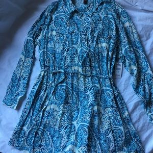 Bit & Bridle paisley tunic dress NWT size XL
